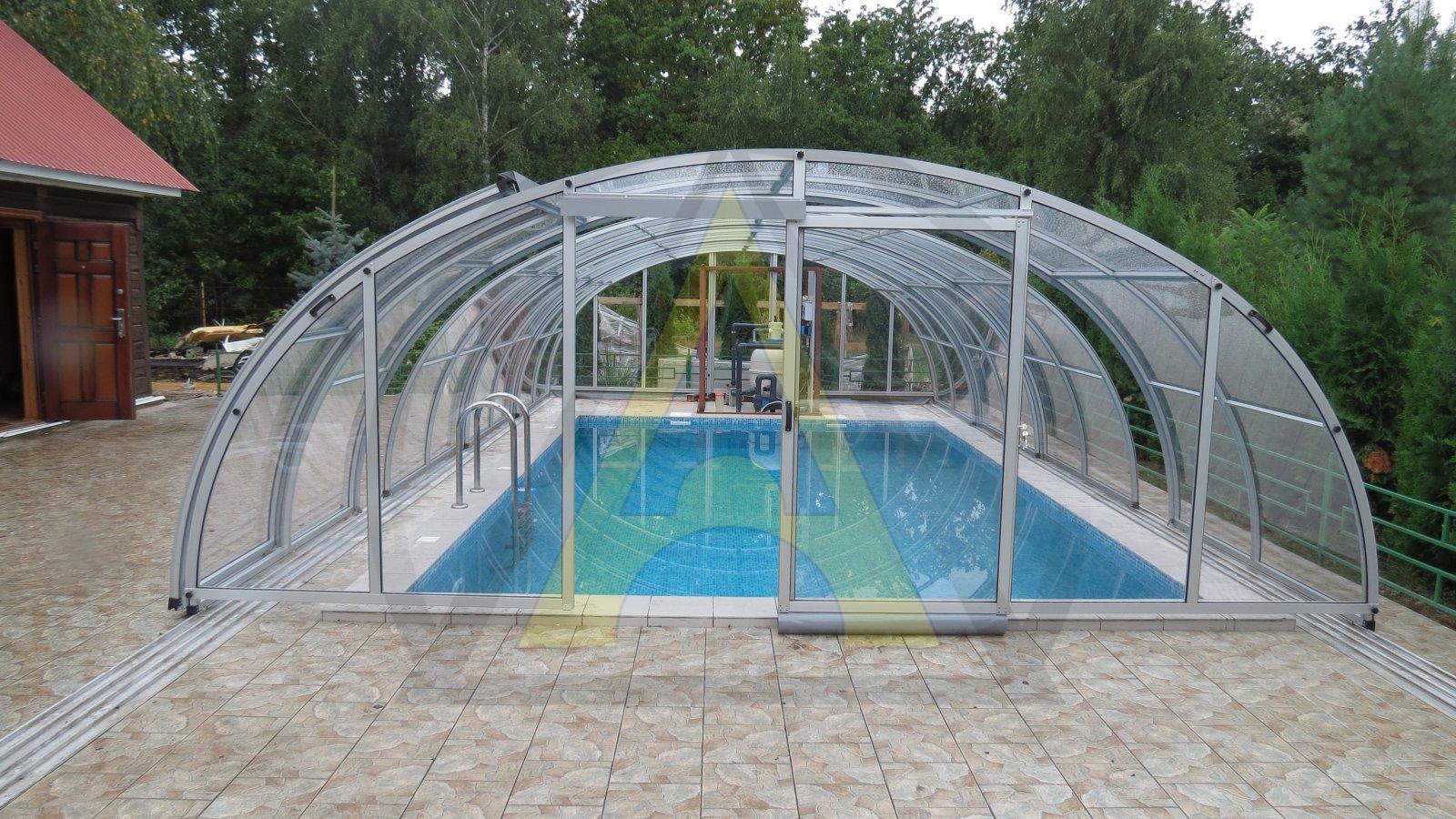 Купол для круглого бассейна FORUMHOUSE 18